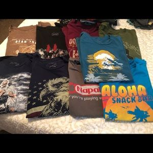 9 Grunt style graphic tees in XXL